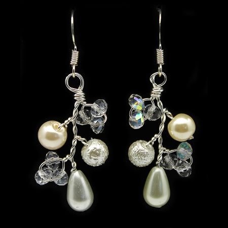 Delicate Pearl Earrings - Nurit Niskala