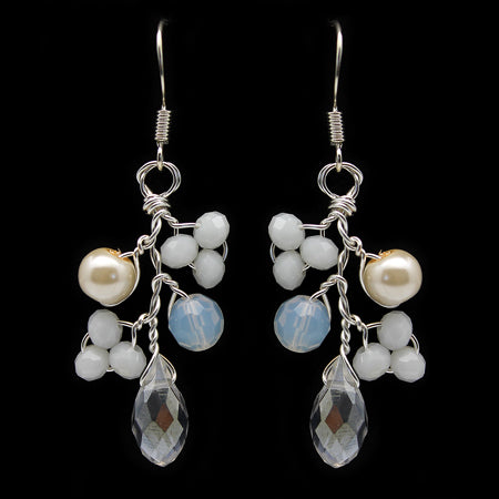 Fine Swarovski Earrings - Nurit Niskala