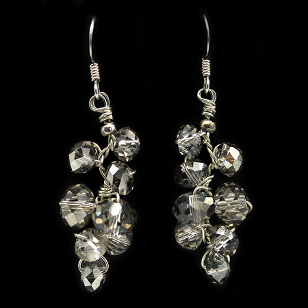 Swarovski Crystal Earrings - Nurit Niskala