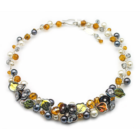 Amber Grey Necklace - Nurit Niskala