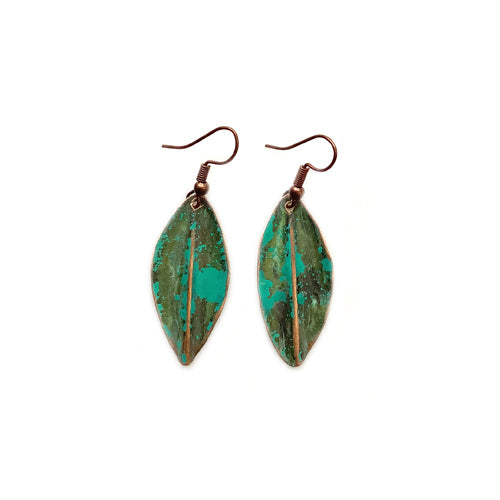 Green Turquoise Small Earrings