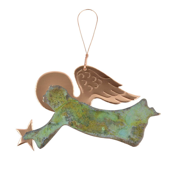 Angel Copper Ornament*