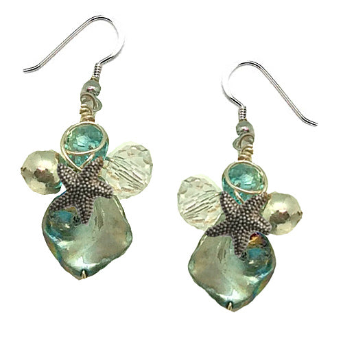 Aqua Fish Earrings - Nurit Niskala