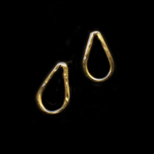 Teardrop Stud Earrings*