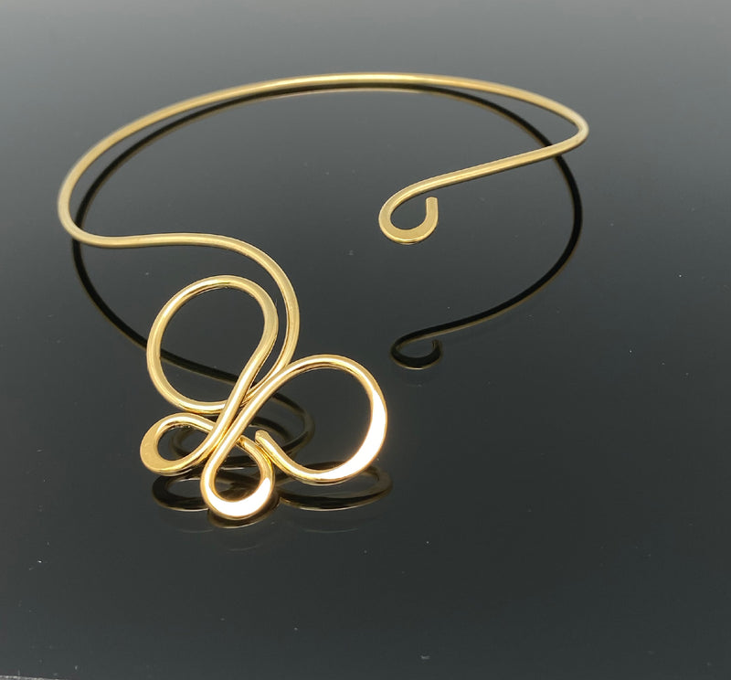 Casual Gold or Silver Chokers - Nurit Niskala