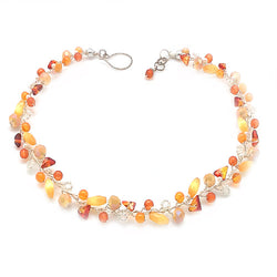 Amber Yellow Necklace