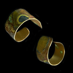 Patina Brass Ring