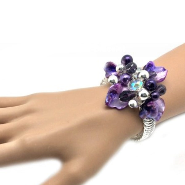 Adjustable Purple Bracelet - Nurit Niskala