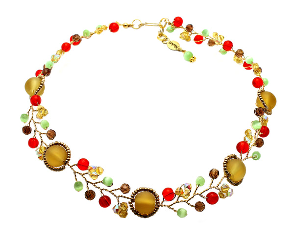 Amber Colorful Necklace