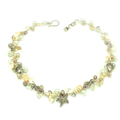 Delicate Sea Shell Necklaces