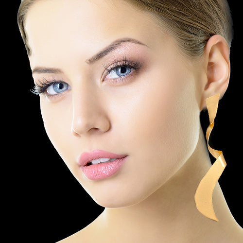 Boho Dangle Gold Long Earrings*