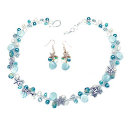 Light Blue / Emerald Nautical Set
