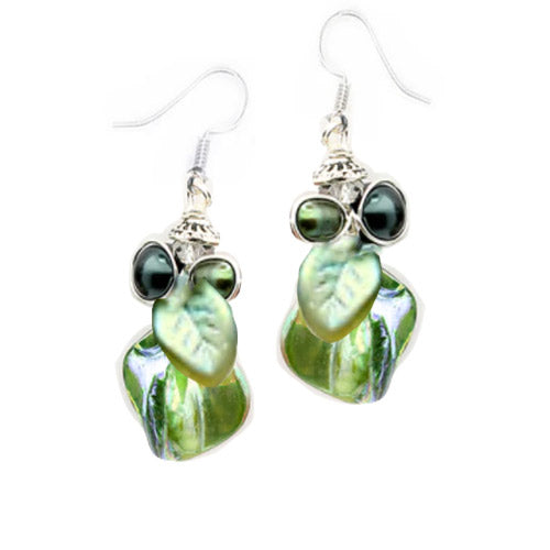 Olive Green Earrings *