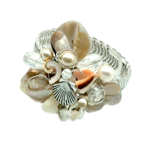 Adjustable Beach Shell Bracelet