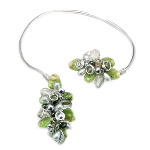 Green Open Choker