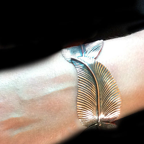 Three Leaf Copper Bracelet*