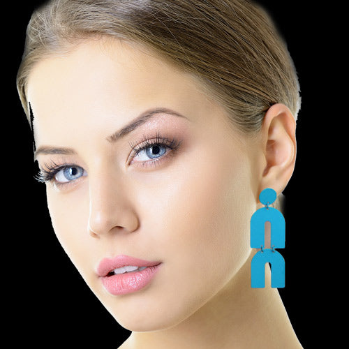 Long Turquoise Earrings*