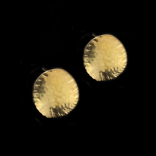 Circle Stud Earrings*