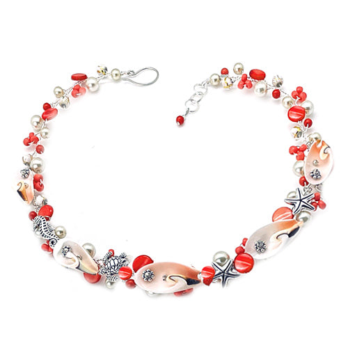 Champagne Coral Nautical Set