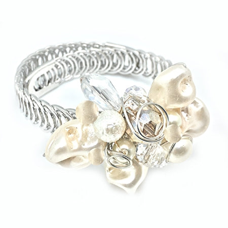 Ivory adjustable Bracelet - Nurit Niskala