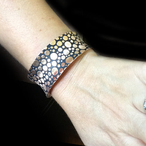 Copper Dots Cuff *