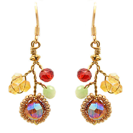 Honey Gold Earrings - Nurit Niskala