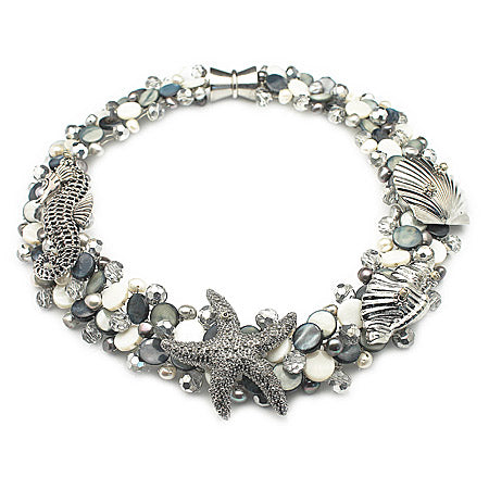 Statment Sealife Necklace - Nurit Niskala