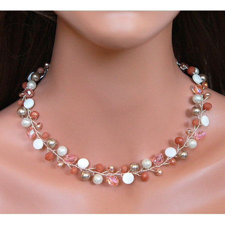 Champagne Squash Necklace - Nurit Niskala