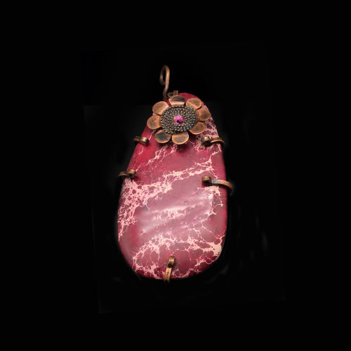 Genuine Fuchsia Gemstone Pendants - Nurit Niskala