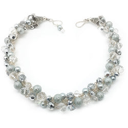 Silver Statement Necklace - Nurit Niskala