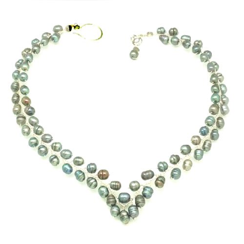 Peacock Freshwater Pearls Necklace