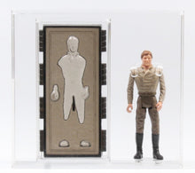 Load image into Gallery viewer, Han Solo Carbonite Chamber (POTF) L17 (CAS 85 graded)