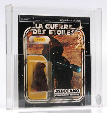 1977 Star Wars Meccano Jawa MOC Graded - 20-back (CAS 85)
