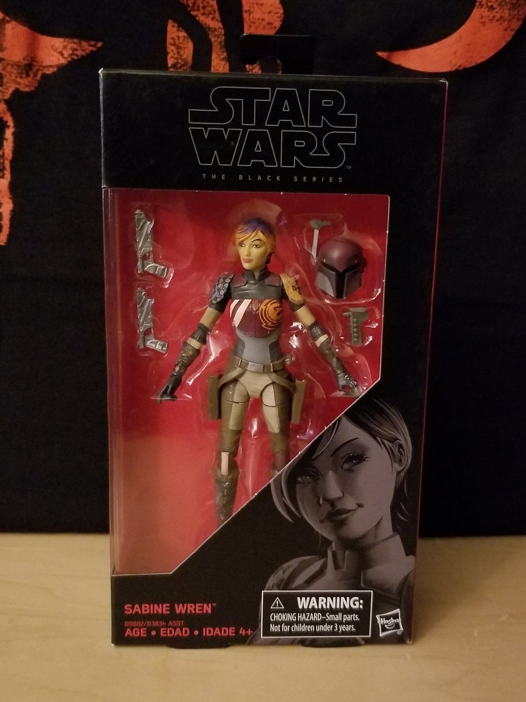 Sabine Wren #33 - The Black Series (6-inch figure)