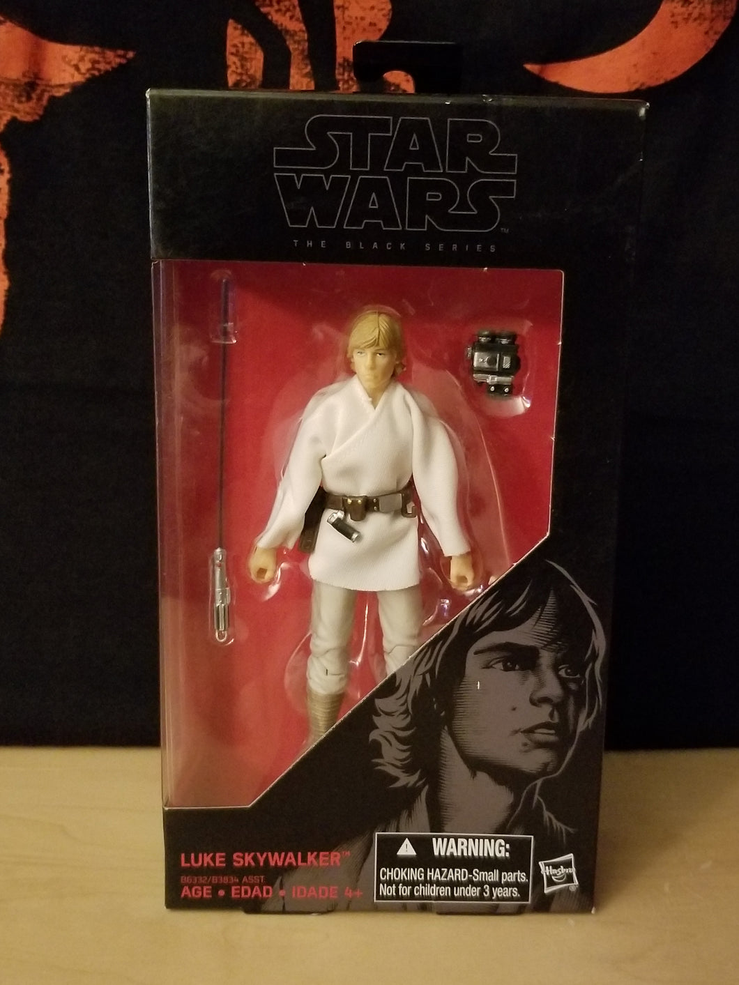 Luke Skywalker #21 - The Black Series (6-inch figure)