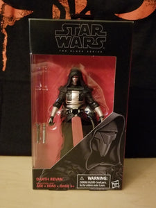 RE-RELEASE EXCLUSIVE: Darth Revan #34 - The Black Series (6-inch figure)
