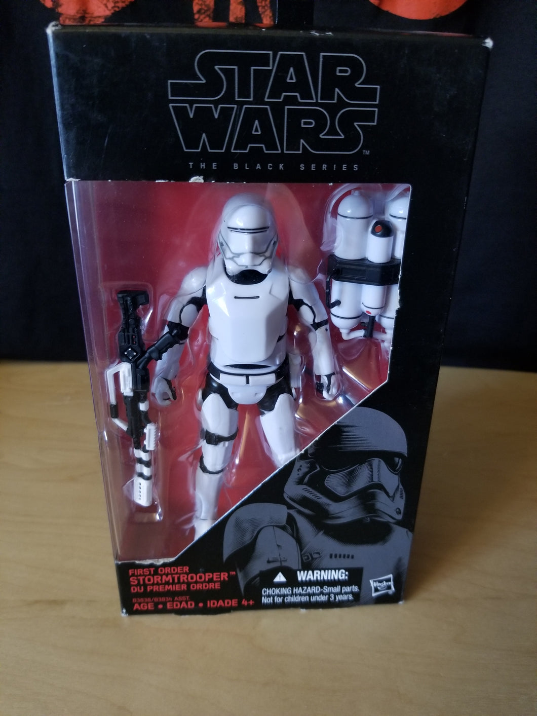 Flametrooper - VARIANT Box Error (RARE) - The Black Series (6-inch figure)