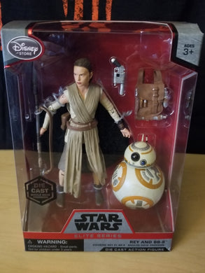 Rey (with staff) & BB-8 - Disney Star Wars Elite Series