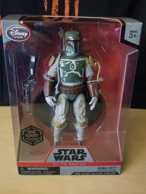 Boba Fett NO CAPE (Very Rare) - Disney Star Wars Elite Series (1st release - variant)
