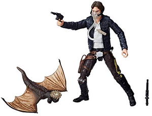 Star Wars SDCC 2018 Hasbro Exclusive Black Series Han Solo & Mynock Set