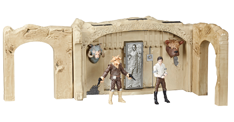 Star Wars TVC: Episode VI Return of the Jedi Jabba's Palace Adventure Set Playset
