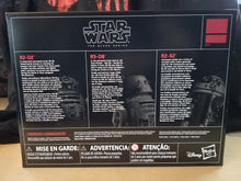 Load image into Gallery viewer, Astromech Droid 3-Pack (R2-D2, R5-D8 & R2-X2) - The Black Series