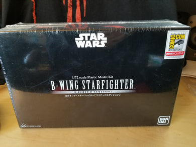 Bandai B-Wing Starfighter Limited Edition San Diego ComicCon model (MISB)