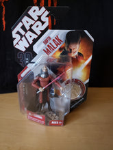 Load image into Gallery viewer, 2007 Star Wars 30th Anniversary 77-07 - #35 Darth Malak with silver coin