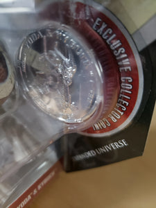 2006 Star Wars 30th Anniversary 77-07 - #32 Yoda & Kybuck 77-07 with silver coin