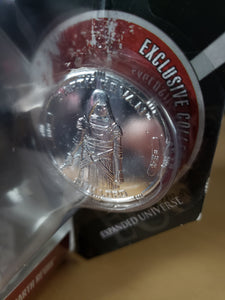 2006 Star Wars 30th Anniversary 77-07 - #34 Darth Revan 77-07 with silver coin