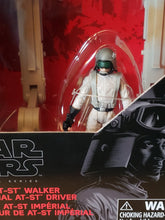 Load image into Gallery viewer, Imperial AT-ST Walker (vehicle) with AT-ST Driver - The Black Series