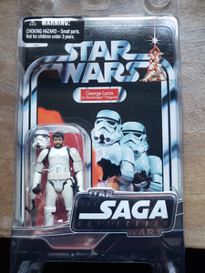 2006 Star Wars TSC Star Wars - George Lucs (in Stormtrooper Disguise) - Unpunched