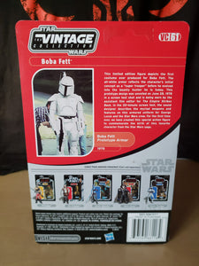 2011 Star Wars TVC Boba Fett Prototype Armor (mail away) VC61 (unpunched)