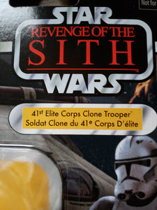 2018 Star Wars TVC Revenge of the Sith - 41st Elite CorpsClone Trooper VC145